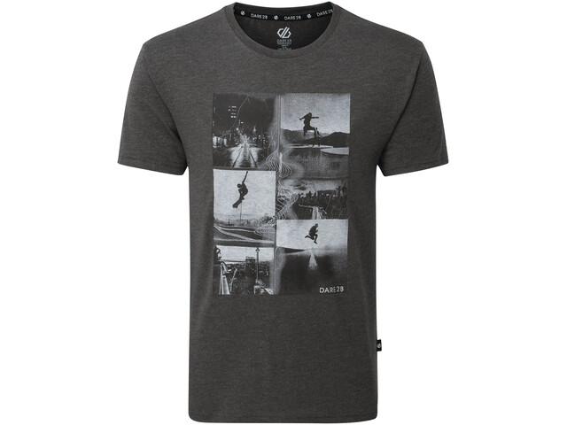 Dare 2b Token T-shirt Homme, charcoal grey marl